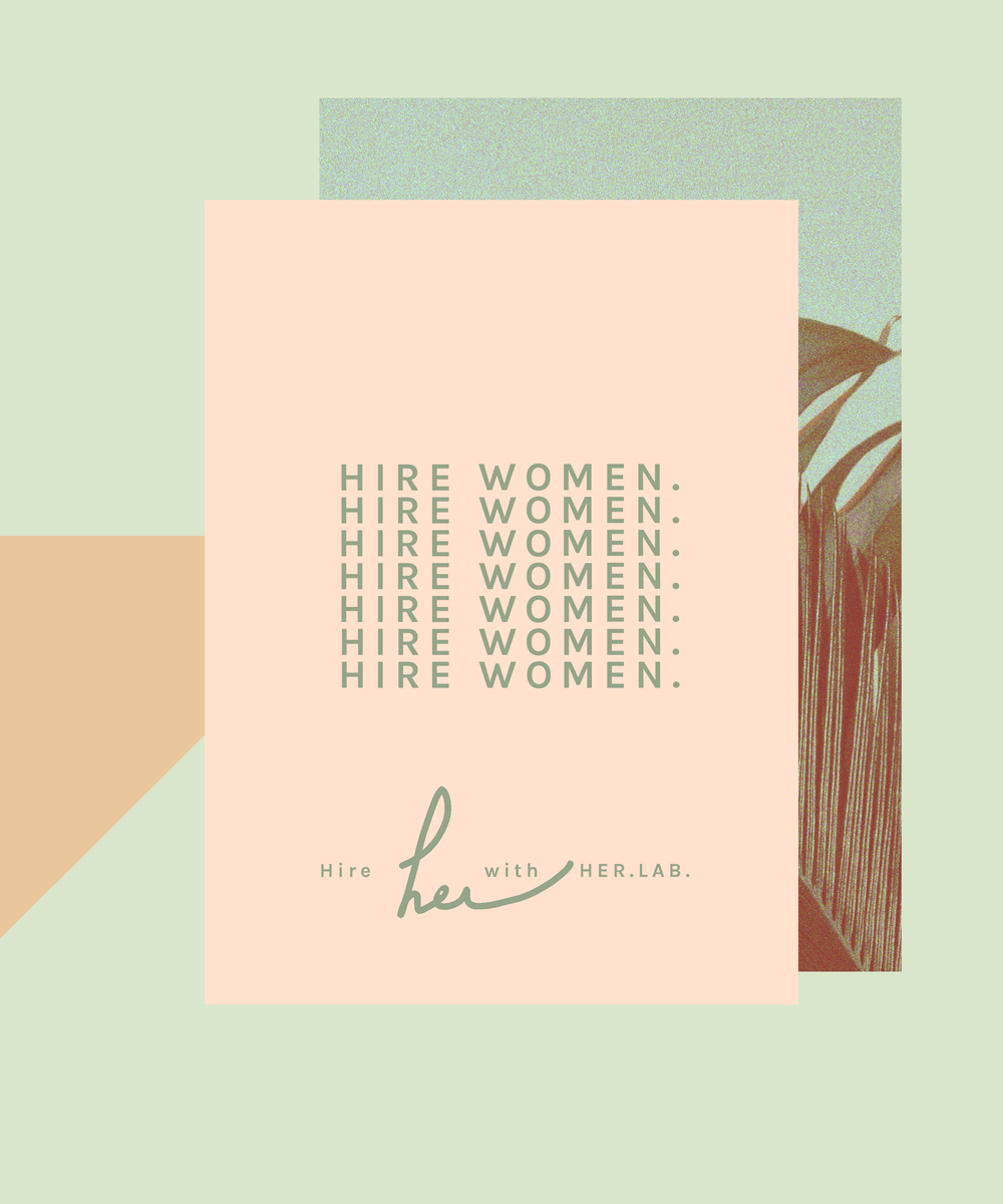 ART DIRECTION + GRAPHIC DESIGN:  PROMO ASSET  Client: HER.LAB