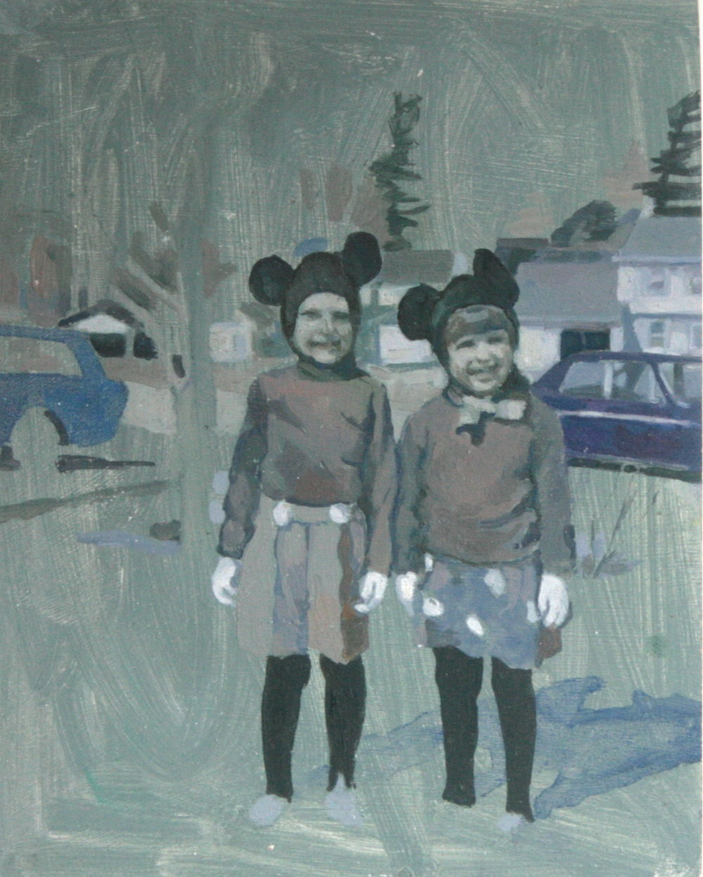 Victoria Day  (2013), oil on board, 17x12cm