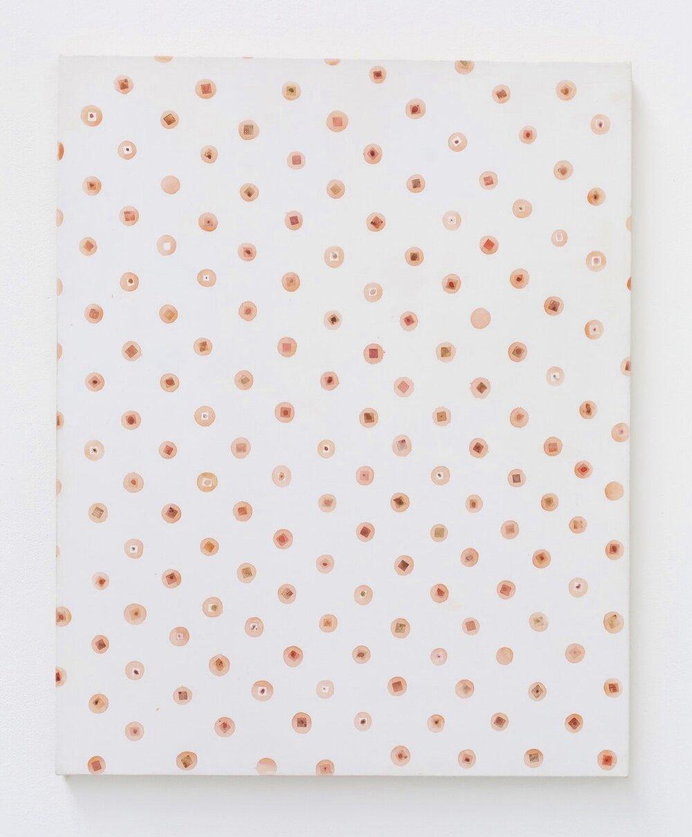 Archive (2016), acrylic on canvas, 75 x 90 cm