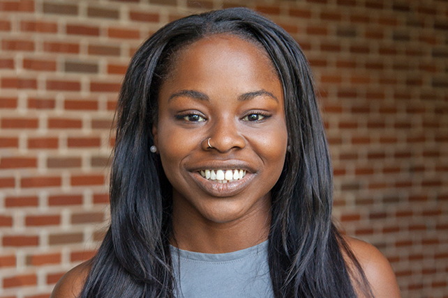 Choosing love  - Nesha White, Senior, Family and Human Services