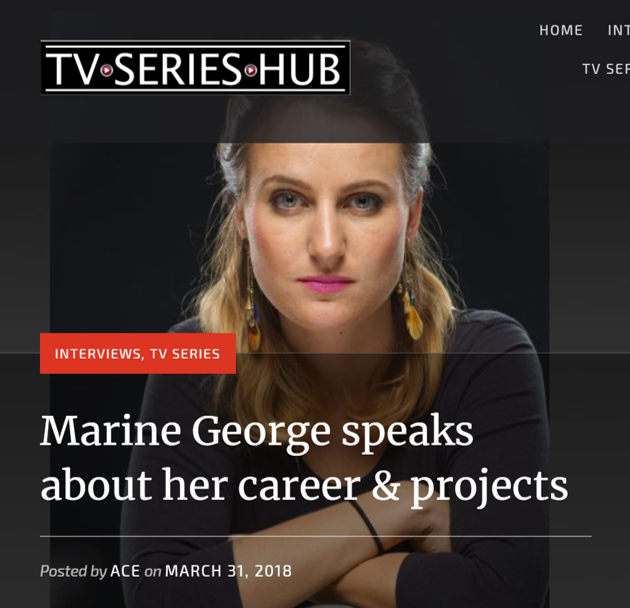 Marine George Interview TVSeriesHub.png