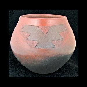 navajo pottery designs. PE34 Navajo Lorenzo Spencer Bowl With Kiva Designs Pottery