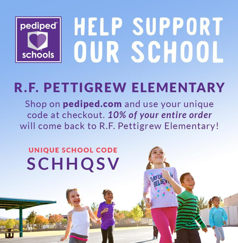Advertisement for Pediped shoes school program