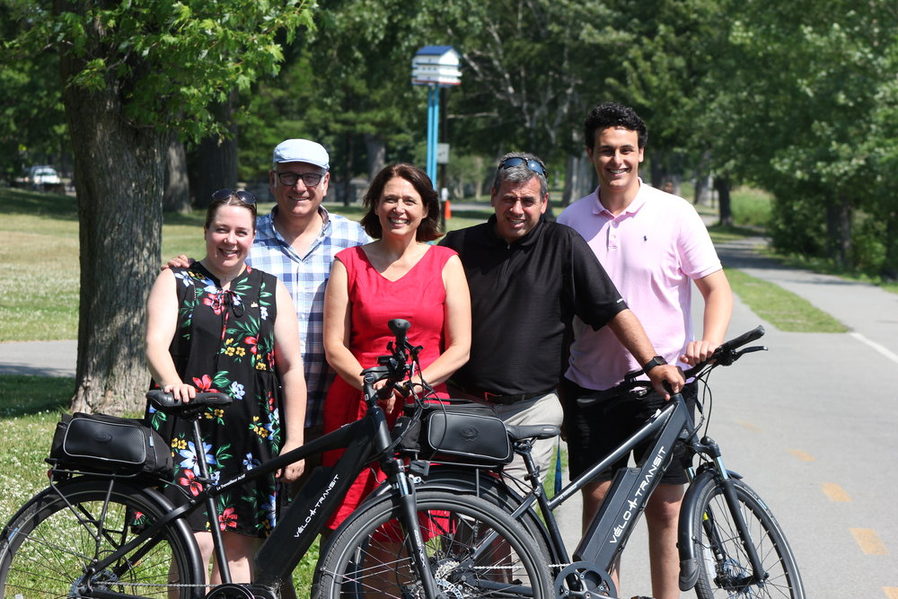 Vélo-Transit à Lachine