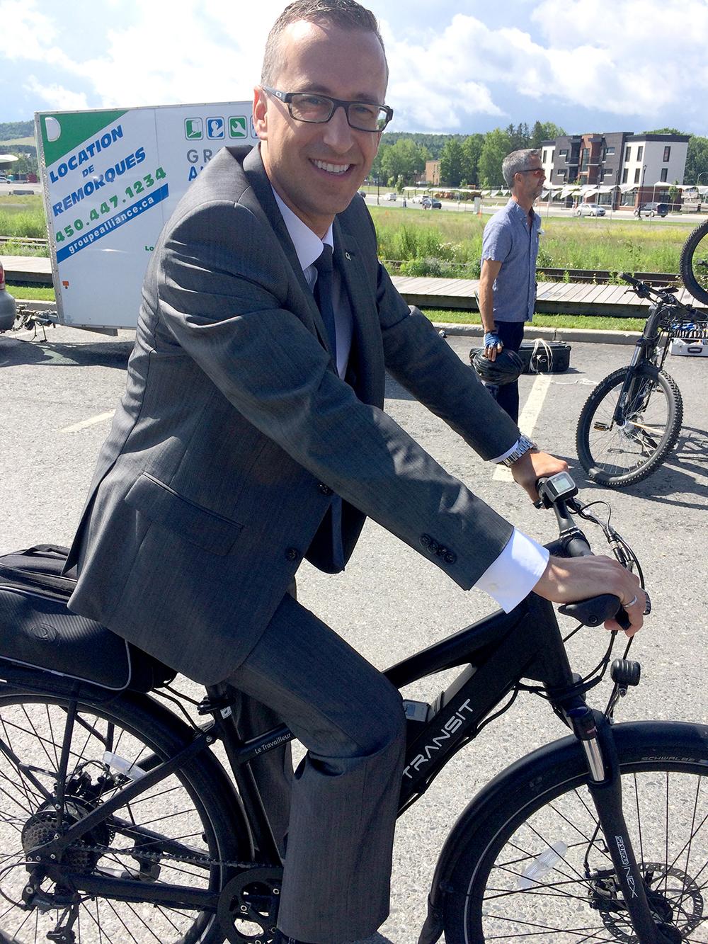 Éric Filion Président, Hydro Québec Distribution