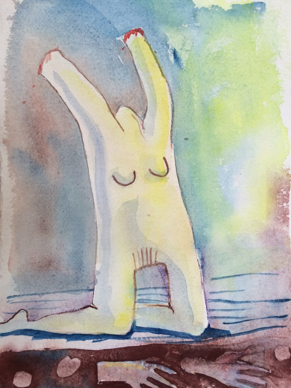 MEMORY. watercolour