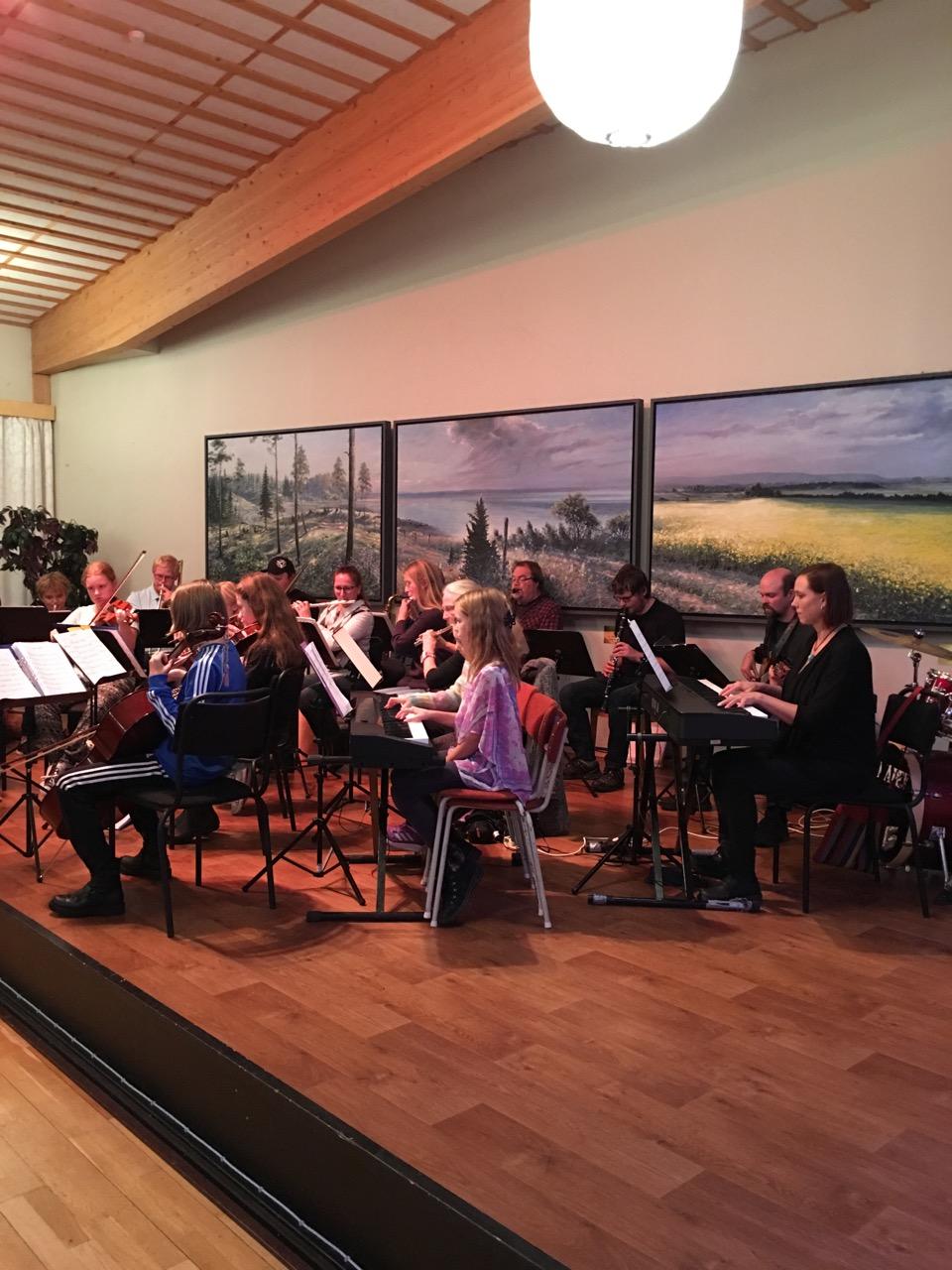musikeleverna fråb Kulturskolan spelar, Ödeshög