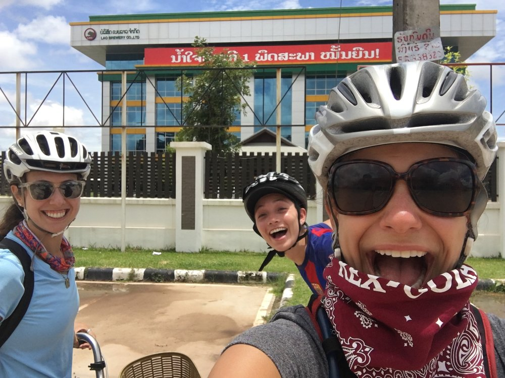 Amy, Corey and I made a pit stop at the BeerLao factory on our way our of Vientiane.