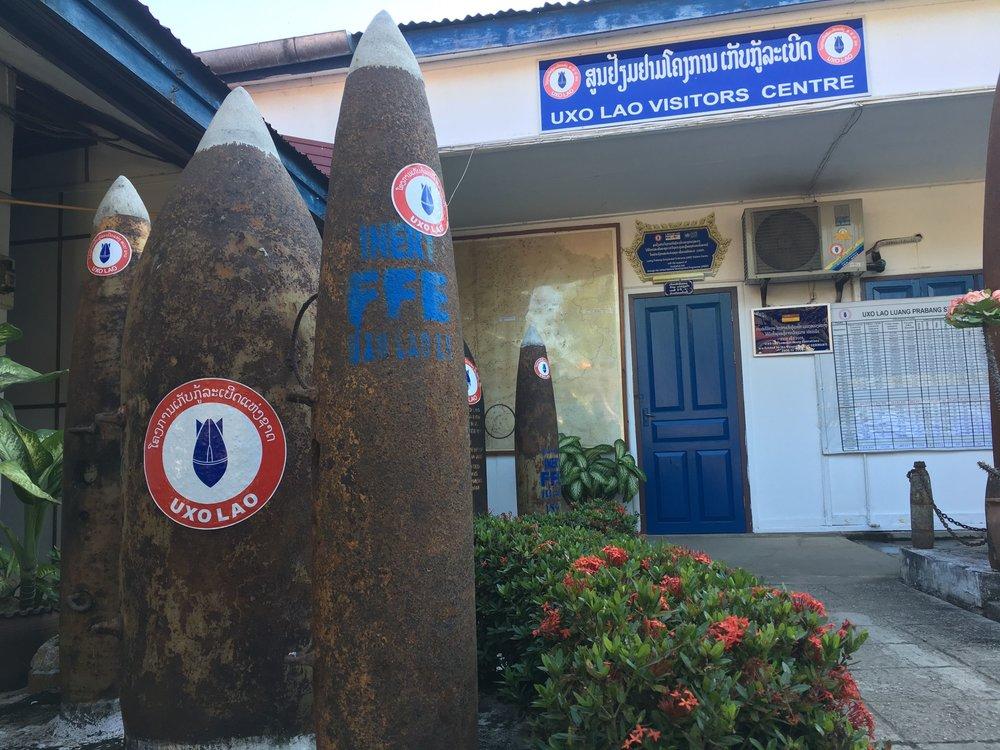 UXO Laos Visitor's Center, Luang Prabang | © Regina Beach