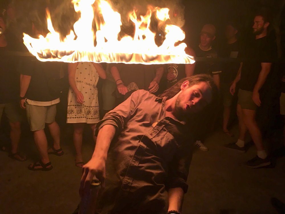Fire Limbo at the Jungle Project | Regina Beach