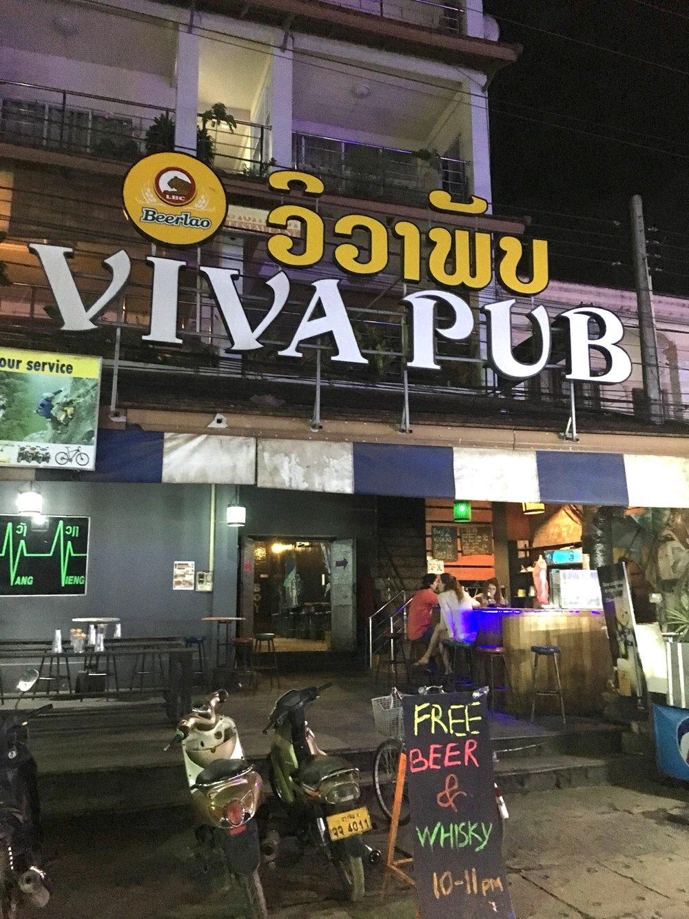 Viva Pub |©Regina Beach