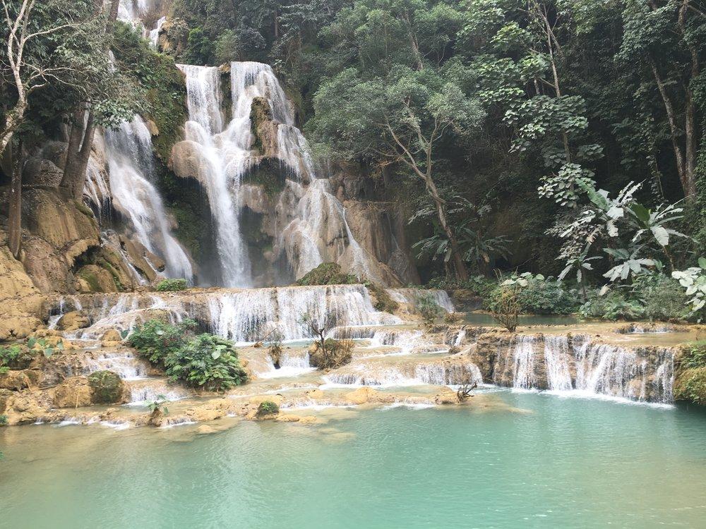 Kuang Si Falls   Regina Beach