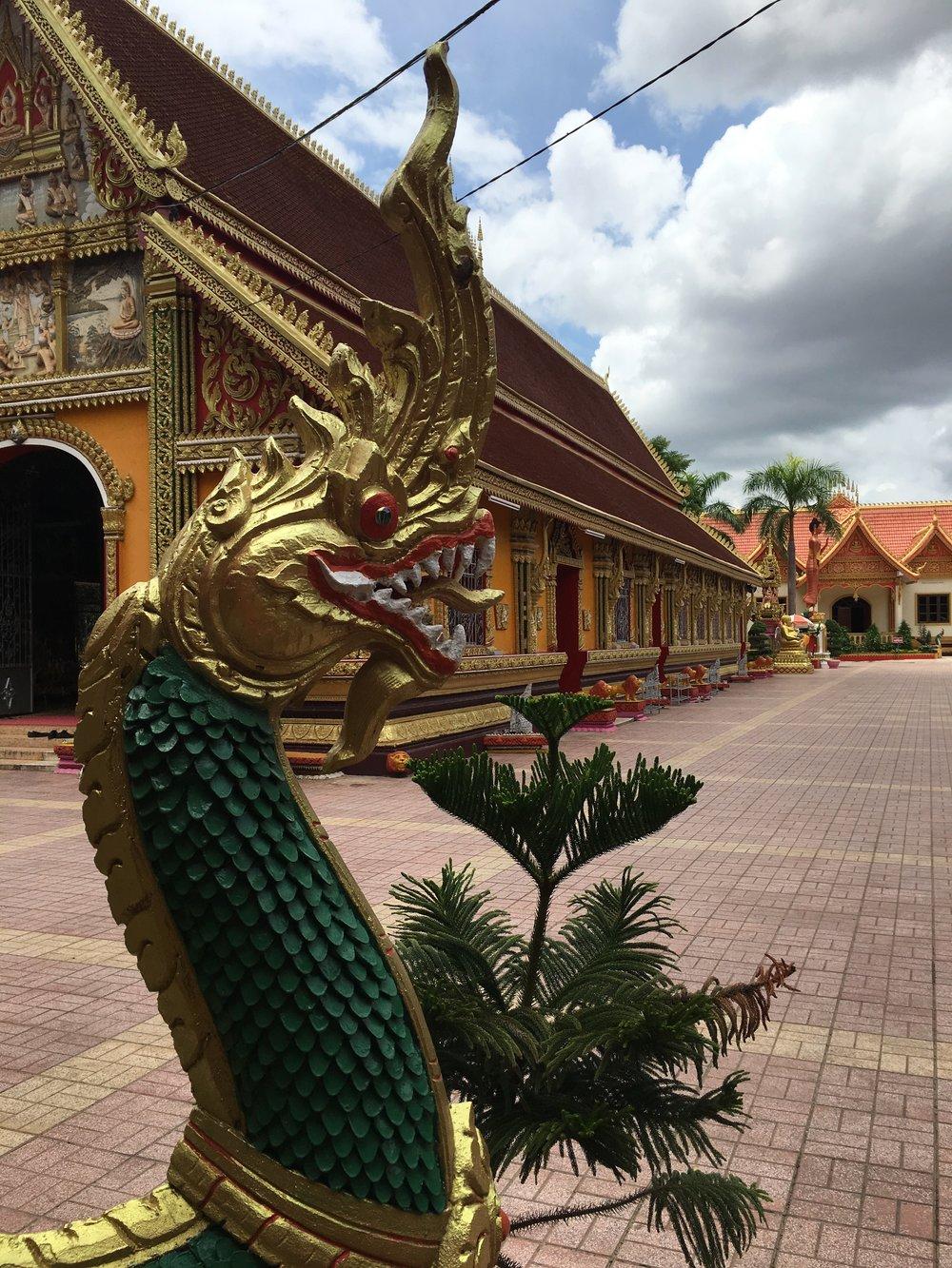 Wat Si Muang, Vientiane, Laos | © Regina Beach