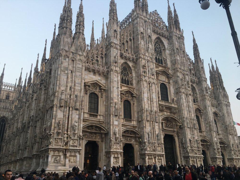 The Duomo was still pretty and impressive even though I was so mad.