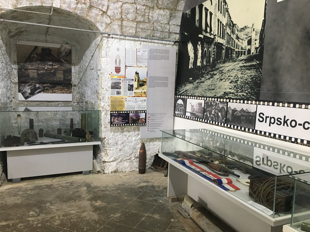 Fort Imperial has an exhibit on the Croatian War for Independence.