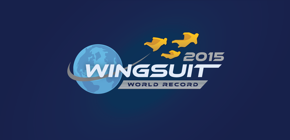 2015 Wingsuit World Record Logo