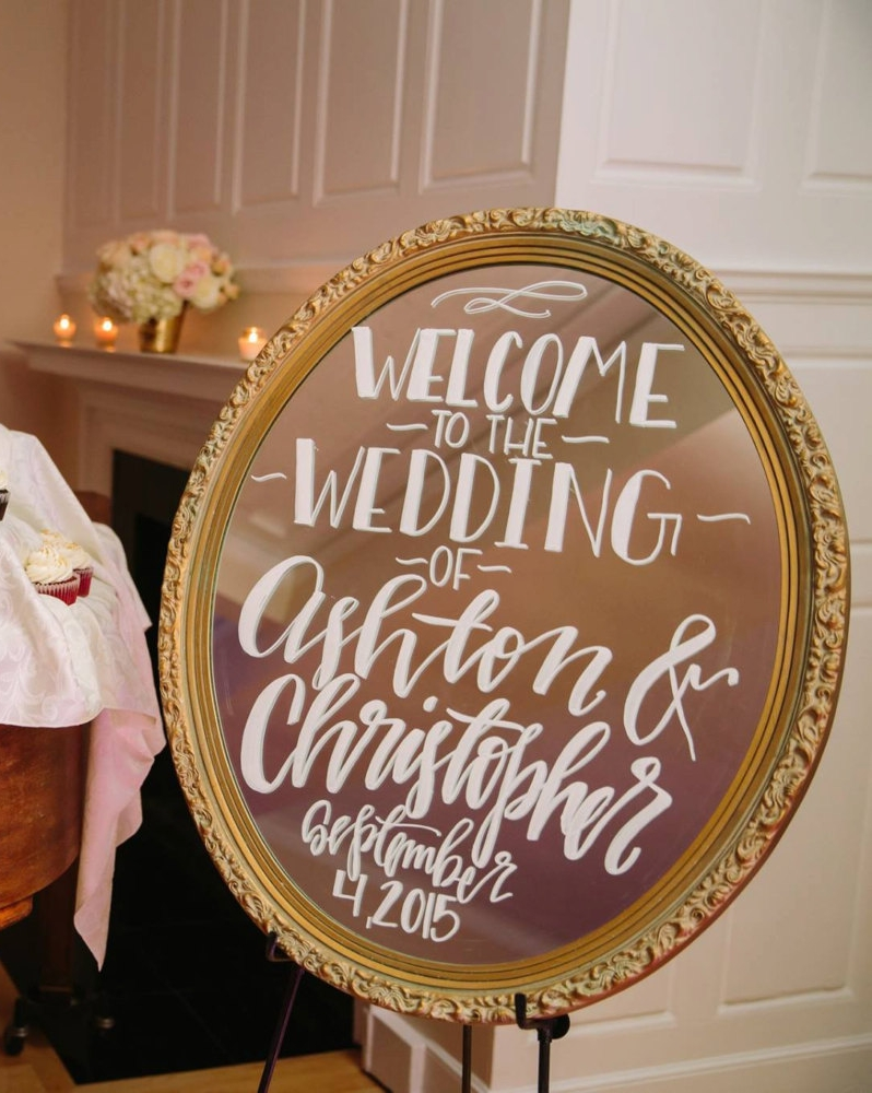 Wedding Welcome Sign Ideas