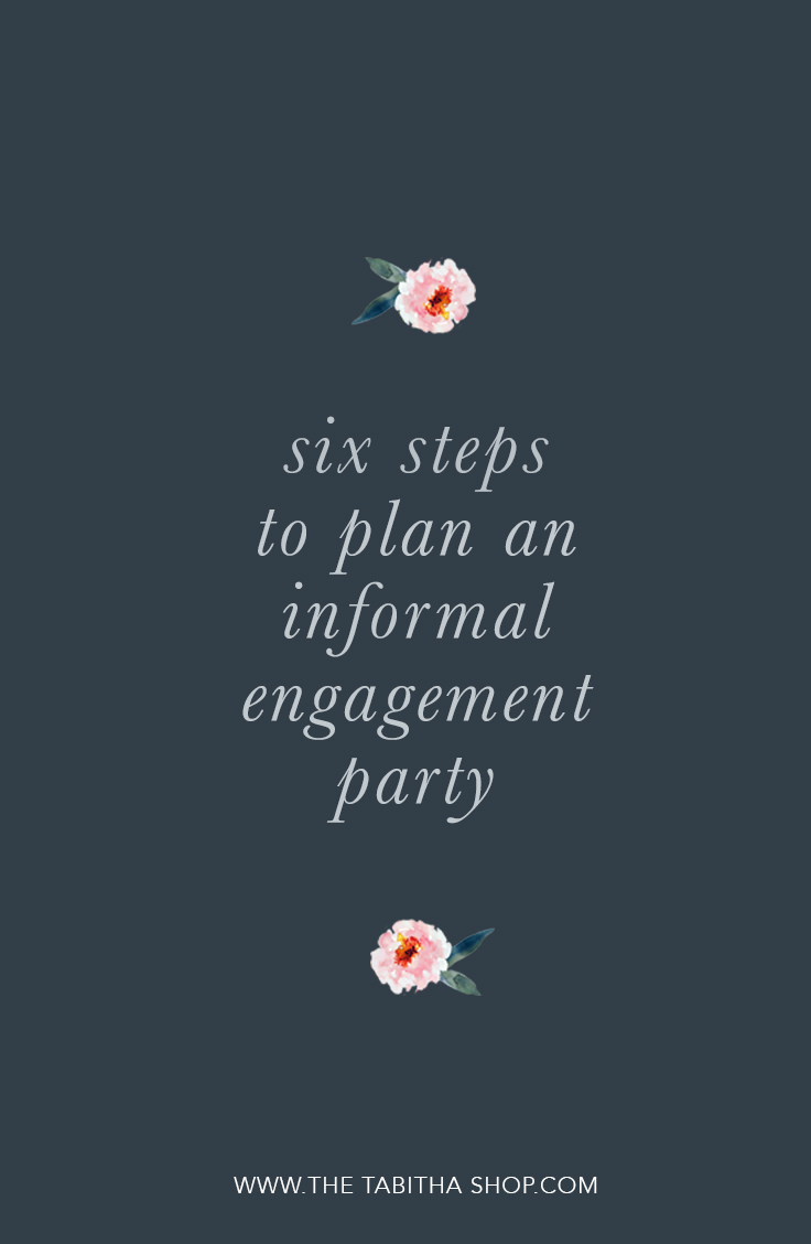 engagement party planning