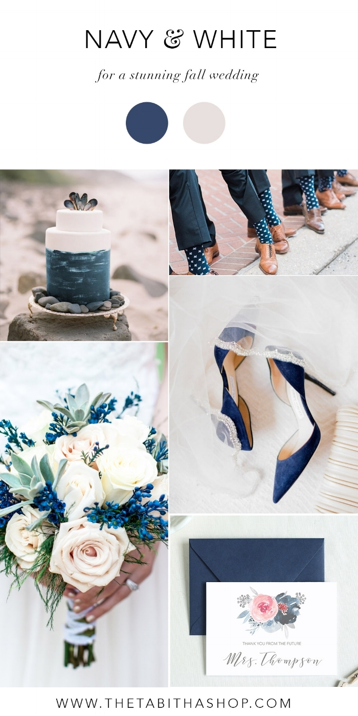 Clockwise from the top left: Photo via Pinterest | Photo by  Julie Paisley Photography  via  Style Me Pretty  | Photo by  Jordan Brittley  via  M  yWedding.com  |  The Tabitha Shop Future Mrs Card  | Photo by Image Studios Group LLC via  Inspired Bride