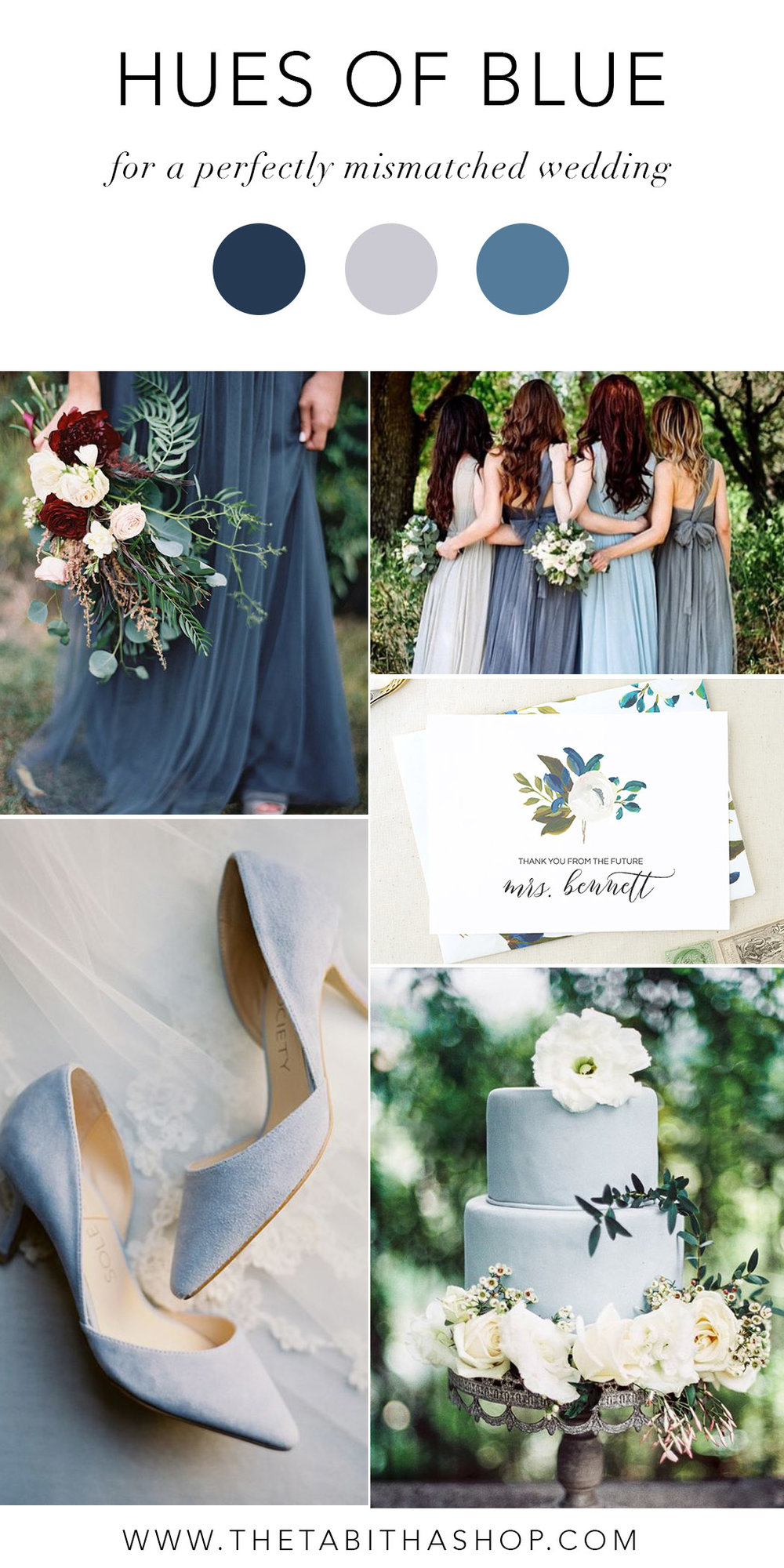Clockwise, starting top left: Photo by  Clark Brewer  via  100 Layer Cake  // via  Plan Your Perfect Wedding  //  Future Mrs Thank You Card  by  The Tabitha Shop  // photo by  LARA LAM  via  Magnolia Rouge  // photo by  Meghan Mehan  via  Style Me Pretty