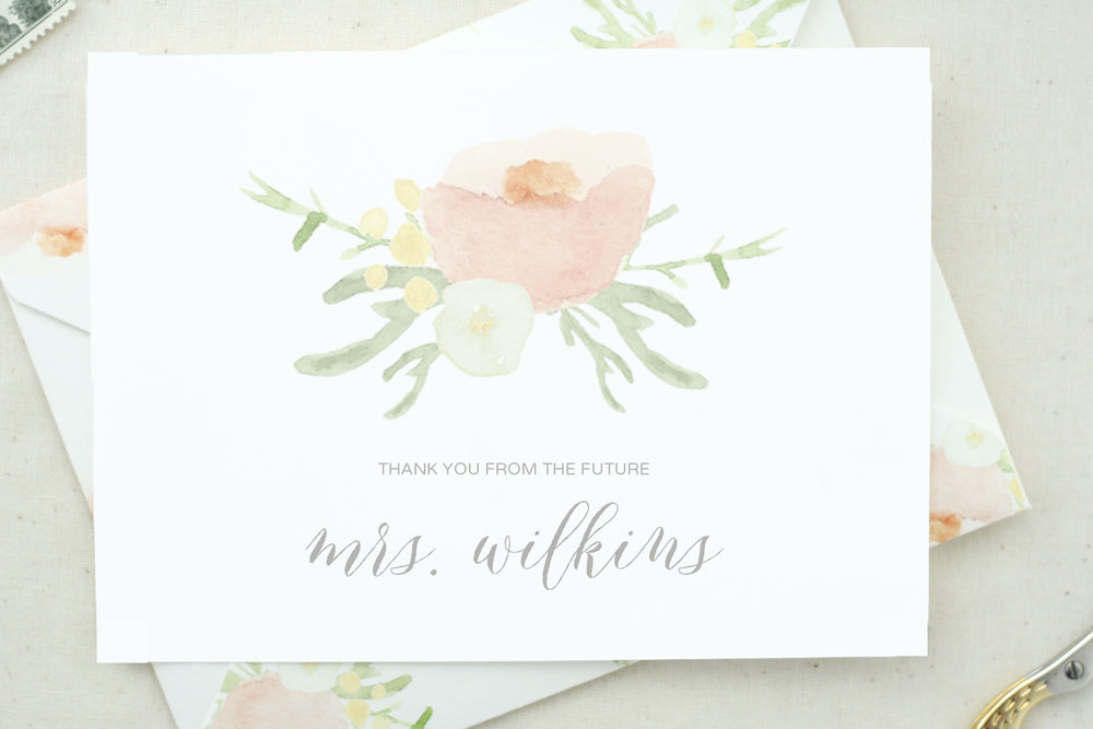 Future Mrs. Card  by  The Tabitha Shop