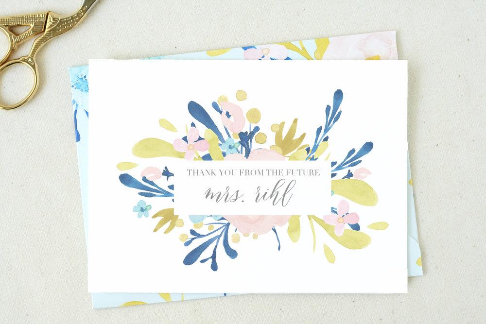 Future Mrs. Card by  The Tabitha Shop
