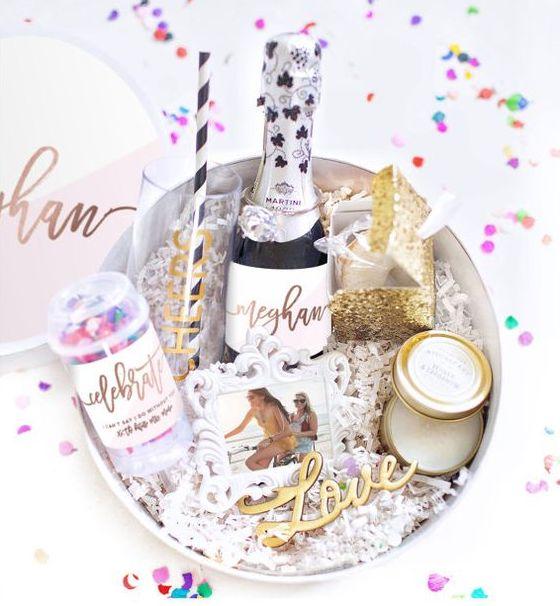 bridesmaid box ideas
