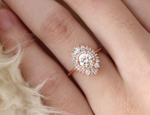 Waterfall Cambria Ring by  Heidi Gibson