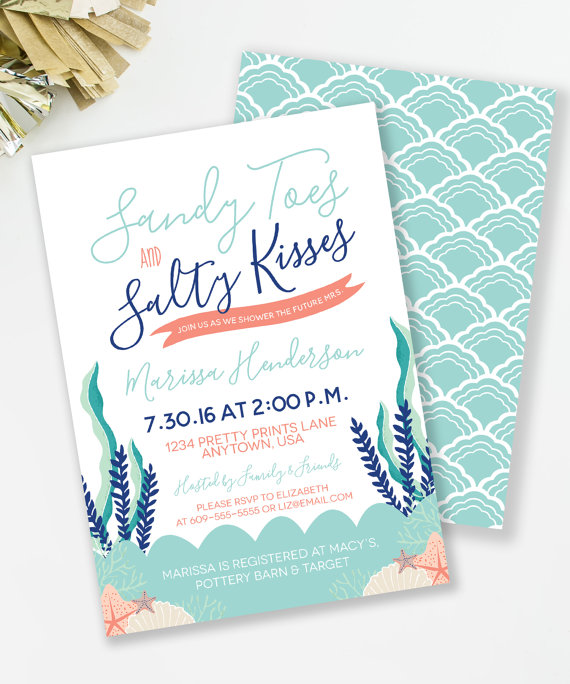 Invite by MKKM Designs    This  invite  is an adorable way to get your girls out in the sun.
