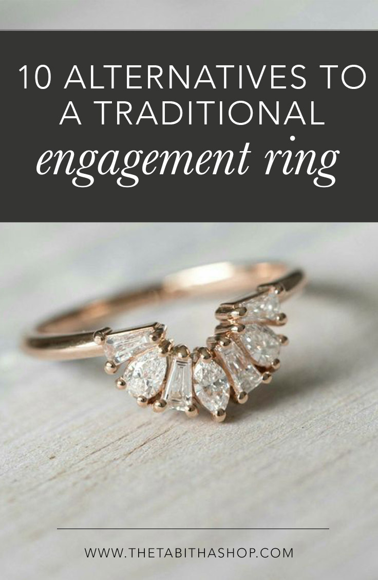 10 Alternatives to a Traditional Engagement Ring