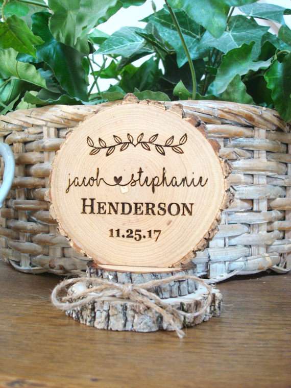wooden rustic wedding ideas