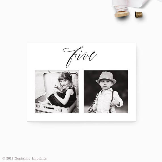 personalized table numbers