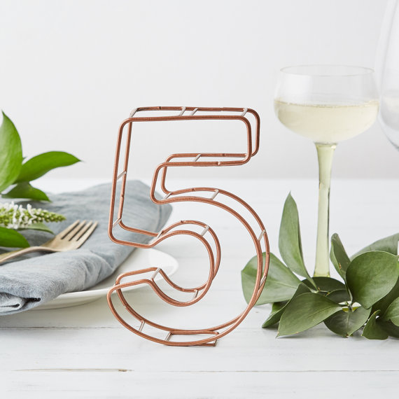 iron table number