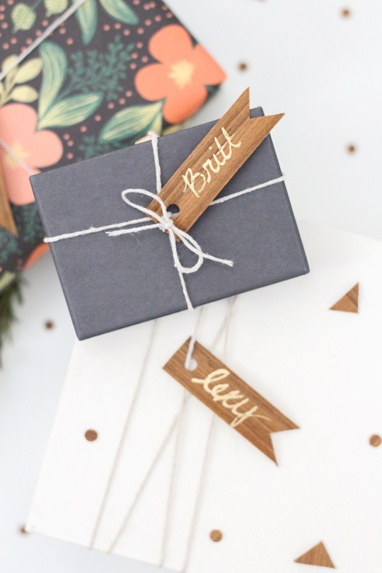 bridesmaid gift wrapping ideas
