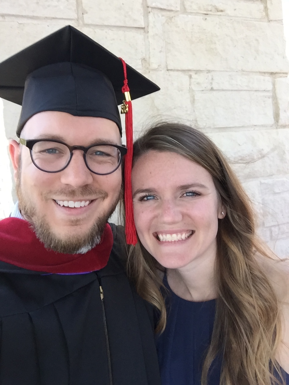 He graduated! And I couldn't have been happier for him or for me. ;)