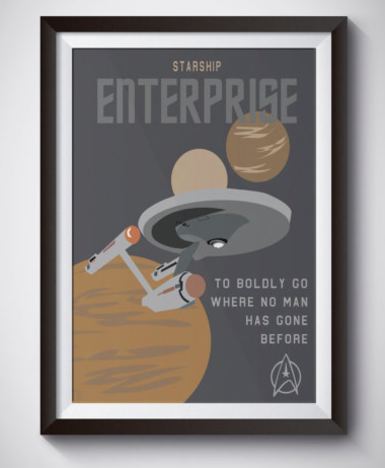 star trek gifts for bridesmaids