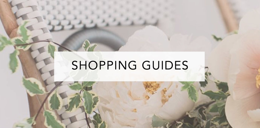 wedding shopping guides