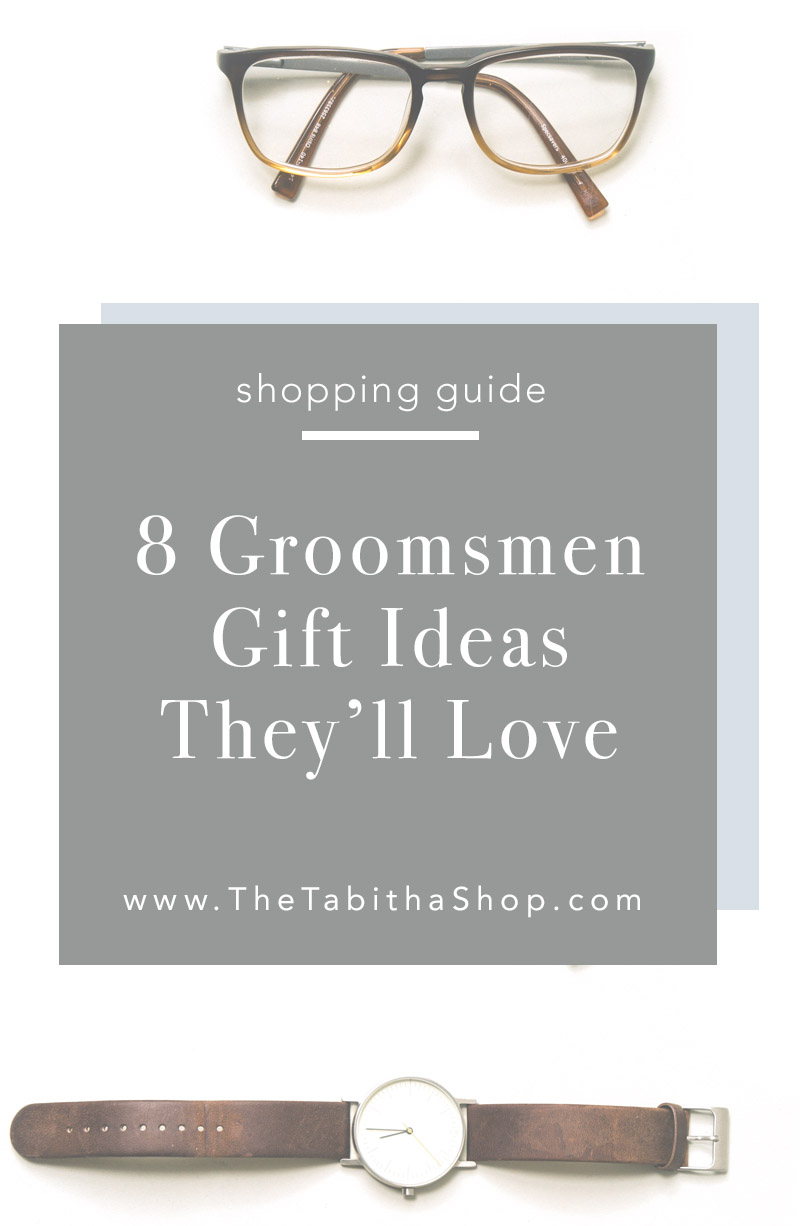 gift ideas for groomsmen