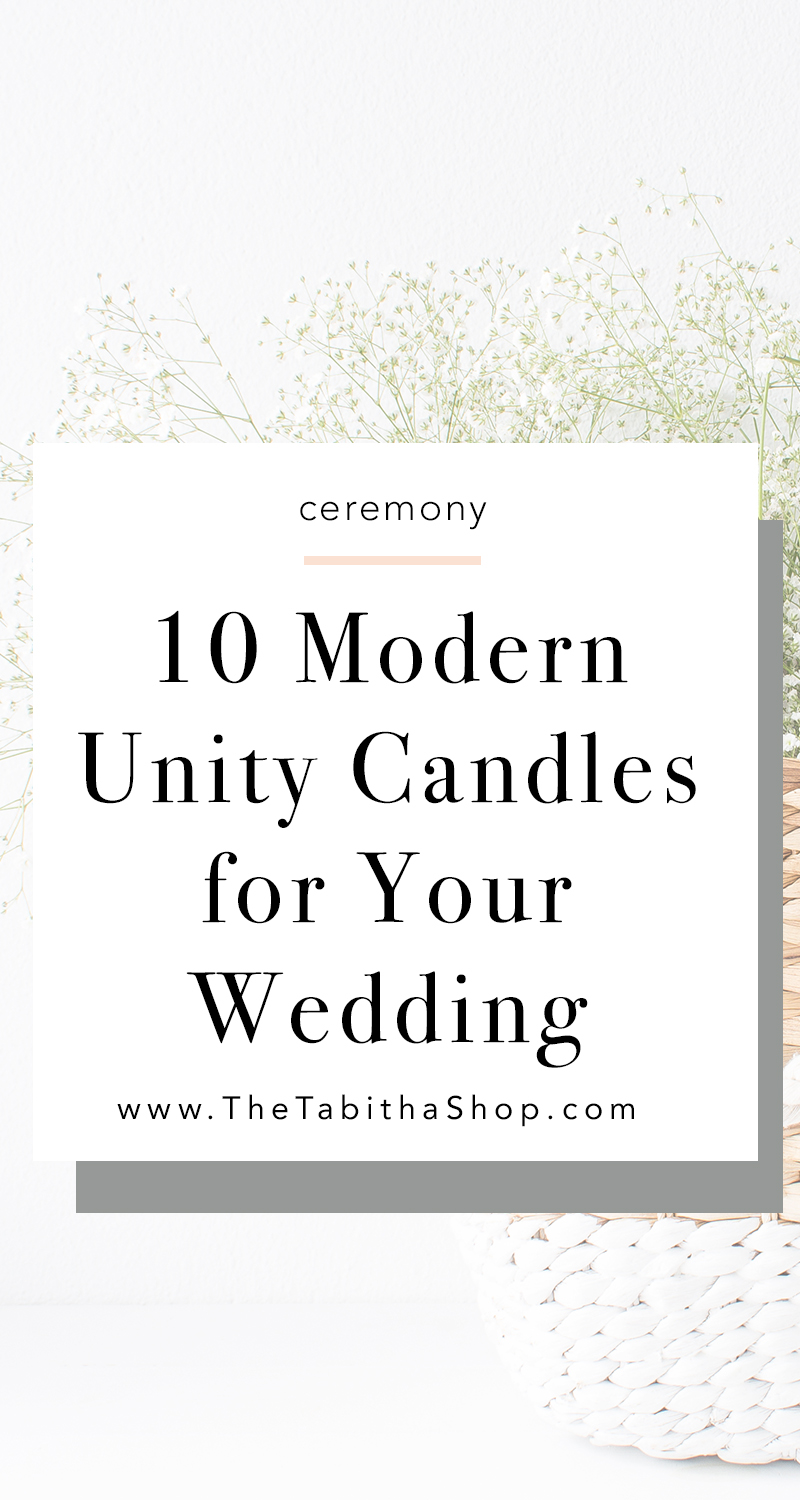 unity candles for wedding