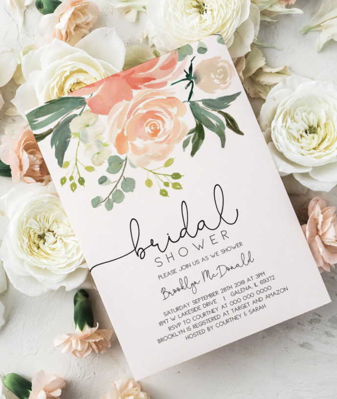 15 Bridal Shower Invitation Ideas The Tabitha Shop