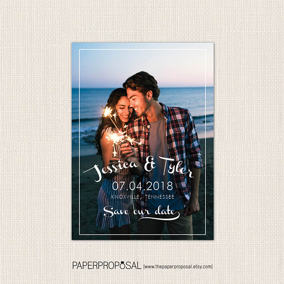 fourth of july save the date