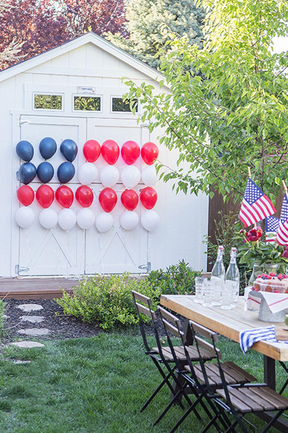 fourth of july reception ideas