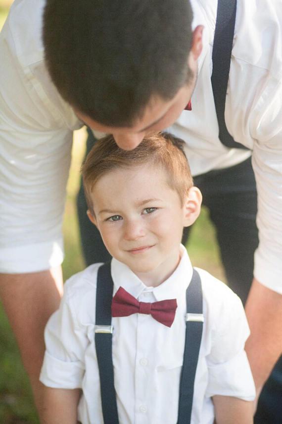 navy burgundy wedding ties