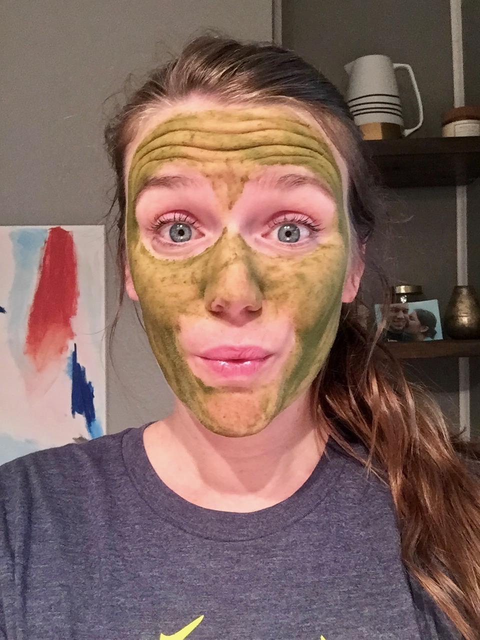 matcha face wash