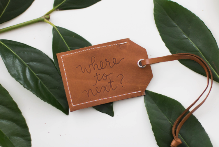 bridesmaid luggage tag