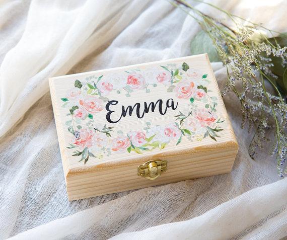 Flower Girl Jewelry Box
