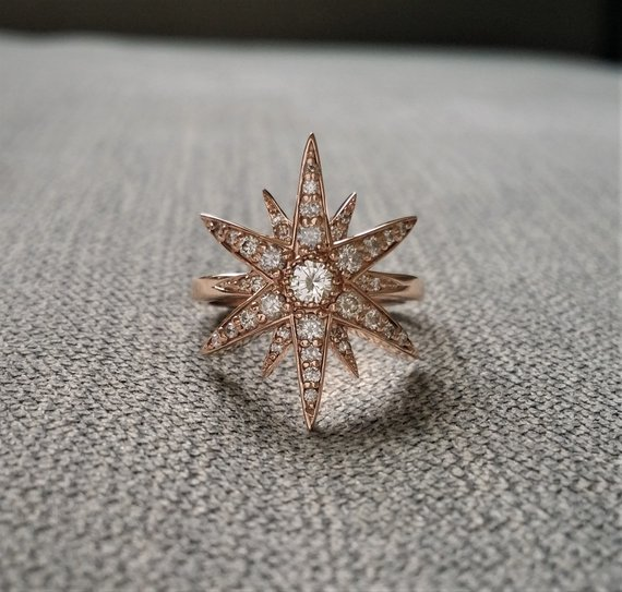 star wedding ring