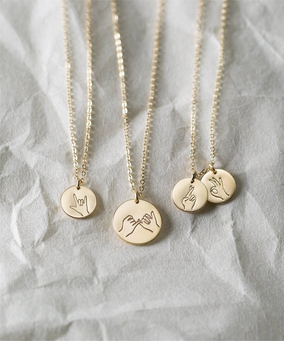 9 Gifts for the Sister You Can't Live Without - Necklaces by GLDNxLayered and Long