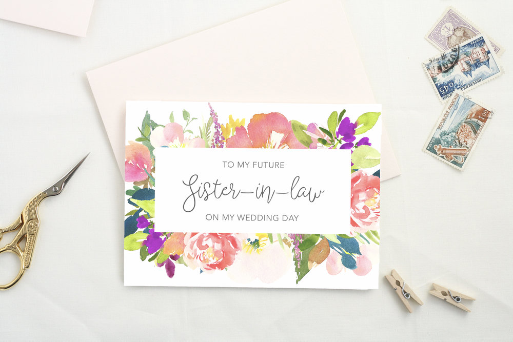 9 Gifts for the Sister You Can't Live Without - Card by The Tabitha Shop