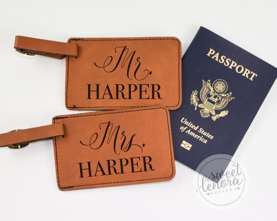 Luggage Tags by Sweet Lenora Designs